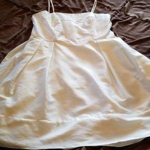Casual bridal plus size midi dress